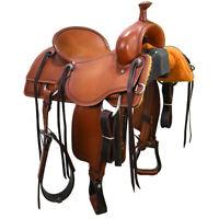 "New! 16.5"" Martin Saddlery Ranch Cutting Saddle Code: 08165RC02661"