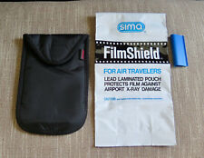 x2 Lot Sima And Op/Tech Film Shield Lead Bag Pack X-Ray Protector Bags Travel