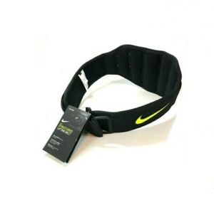 Nike Structured Training Crossfit Weight-Lifting Belt Black/Volt Large NWT