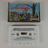 Bob and Tom - Last Train To Whiskeyville Cassette Tape 1988 Q95 Radio Comedy