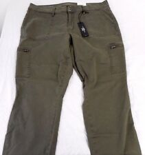 Women's Juniors a.n.a. Skinny Ankle Pants Oregano Size 33/16 New