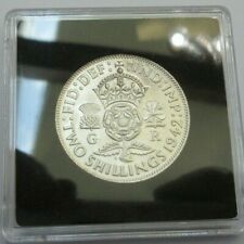 More details for 1942 george vi silver florin 2 shillings spink ref 4081 boxed with cert a2