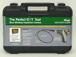 Whistler 9mm Wireless Inspection Camera Audio Video w/ LCD monitor WIC-5200