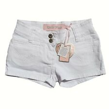 Miss Posh Girls White Hot Pants Shorts Age 7-8 years
