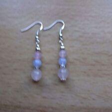 Handmade Hook Agate Fine Earrings