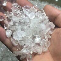 100g-Natural Rare Quartz Tumbled stone White Crystal Reiki Healing Chakra