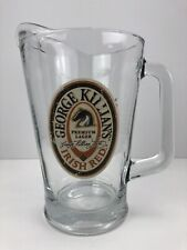 Vintage Killian's Irish Red Beer Glass Pitcher - George Killians Pitcher - Bar