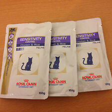Royal Canin Sensitivity Control Cat food chicken + rice wet 100g pouches x 6