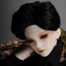 "[Dollmore] 1/3 BJD SIZE SD Wig (8-9)"" Ample Cut Wig (Black)"