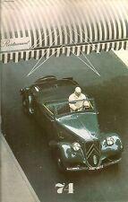 LE DOUBLE CHEVRON 74 1983 IL Y A 50 ANS LA CITROEN TRACTION AVANT TROPHEE VISA