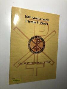 2019 Poste Italiane Filatelia Folder Filatelico 150° Circolo San Pietro