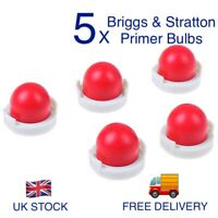 5 x BRIGGS AND STRATTON PRIMER BULB 694394 FUEL PRIMER T3/6, 2 YEAR GUARANTEE ✅