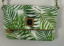 Dooney & Bourke Palm Montego Foldover Small Nylon Crossbody
