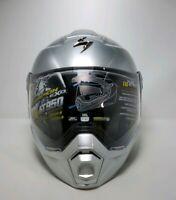 Scorpion HyperSilver EXO-AT950  Motorcycle Helmet Size XXXL 3XL