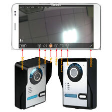Smart Wireless WiFi Video Camera Door Phone Doorbell Eye Visual Intercom Monitor