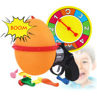 Russian Roulette Model Ball Pistol Gun Toy Party Fun Game + 10 Balloons for Kids