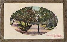 APC238) PC Treasury Gardens, Melbourne, Victoria, Ward & Lock & Co, used, GC