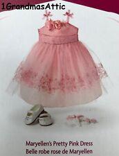 American Girl Maryellen Pretty Pink Dress NIB
