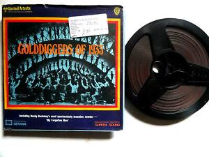 "Super 8mm b/w sound 1x400'' ""GOLD DIGGERS OF 1933""  Original Box"