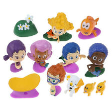 12 Figure Set Bubble Guppies PVC Toy Cake Topper GIL Molly Nonny Deema Oona Goby