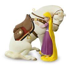 A Girl's Best Friend - 2016 Hallmark Disney Rapunzel With Maximus Ornament - NIB