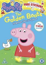 Peppa Pig The Golden Boots (DVD) *NEW & SEALED*
