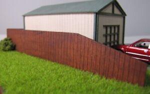 Trackside Models - N Scale - Laser Cut Timber Fencing  - SM019