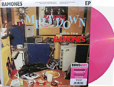 """RAMONES 10"""" Meltdown With The Ramones PINK Vinyl EP RECORD STORE DAY 2014 Sealed"""
