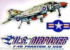 US Airpower F-4D PHANTOM II USN Sticker LOT NEW