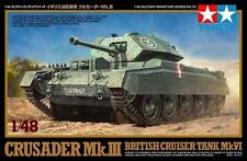 Tamiya 32555 1/48 Crusader Mk.III British Cruiser Tank Mk.VI
