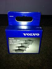 GENUINE VOLVO REAR BRAKE PADS KIT 30648382 V70 S60 S80 XC70 BRAKES