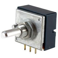 ALPS RK27111 Potentiometer 100K ohm single logarithmic audio taper pot RK27