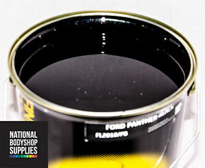 1L FORD PANTHER BLACK BASECOAT METALLIC PEARL PAINT