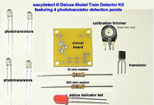 MODEL TRAIN DETECTOR KIT FOR CROSSING FLASHER ACTIVATION AND MORE