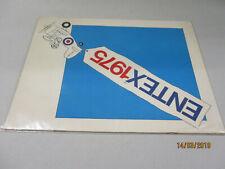 Entex Model Bausätze Katalog  1975