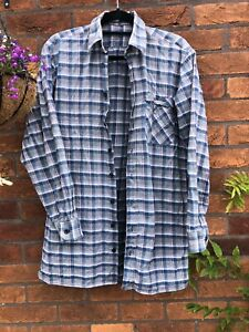 Reclaimed Vintage Oversized Plaid Flannel Checked Shirt 90s Retro Hipster Indie