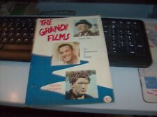 "Suppl. Cine Albi SAS N. 22"" Tre Grandes Films "" Ed. SAS 1951"