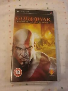 God of War : Chains of Olympus for Sony PSP -Vgc-Complete FREE P&P