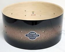 """NEW Sonor Select Force 6 1/2"""" x 14"""" Maple Snare Drum Brown Galaxy Sparkle Finish"""