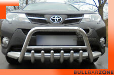 TOYOTA RAV4 IV 2015+ TUBO PROTEZIONE MEDIUM BULL BAR INOX STAINLESS STEEL