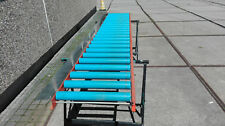 Rollenbahn 3 m x 0,40 m  leichte Rollbahn Förderband Transportrollbahn gebraucht