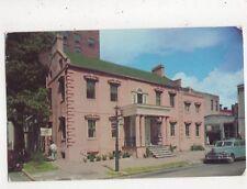 The Pink House Savannah Georgia USA Postcard 849a