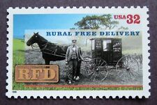Sc # 3090 ~ 32 cent Rural Free Delivery, Centennial Issue (cf21)