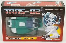 Impossible Toys TRNS-02 Transitional Robot Neural Soldier Function Medic NRFB