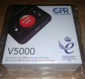 CPR V5000 Call Blocker Block All Robocalls Landline Political Calls, Scam Calls