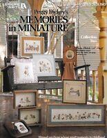 Peggy Dickey's Memories in Miniature 2 Cross Stitch | Leisure Arts 334 Kids