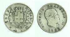 pcc1824_2) Vittorio Emanuele II  (1861-1878) 1 Lire 1863 M