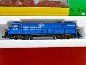 VINTAGE MINITRIX N SCALE Conrail U28 2841 Diesel Locomotive Engine NEW OLD STOCK