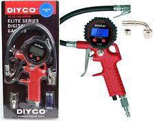DIYCO D2 Digital Tire Inflator with Pressure Gauge - Trigger Grip Style - 200...