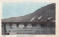 Postcard Stone Bridge Johnstown PA